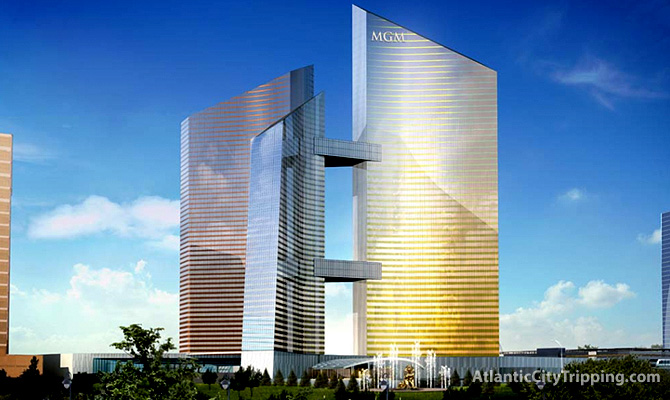 MGM Grand Atlantic City 2007 Rendering - Tower View