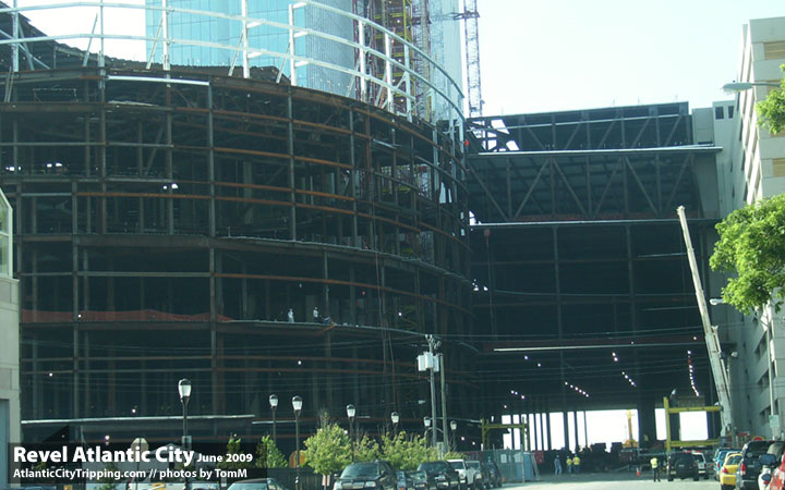 Revel Atlantic City Construction Rear Entrance