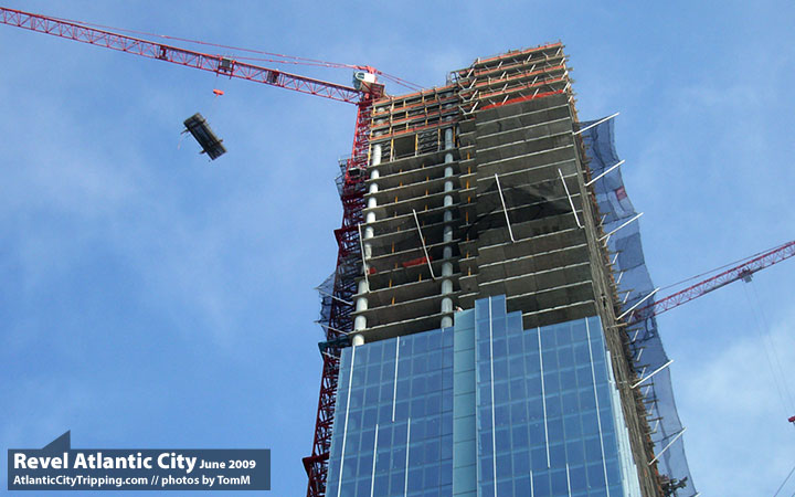 Revel Atlantic City Construction Sidelights