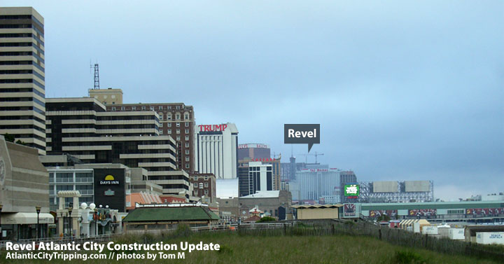 Revel Atlantic City Construction Skyline